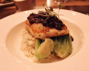 Chilean Sea Bass at Ocean Hai at the Wyndham Grand Clearwater Beach