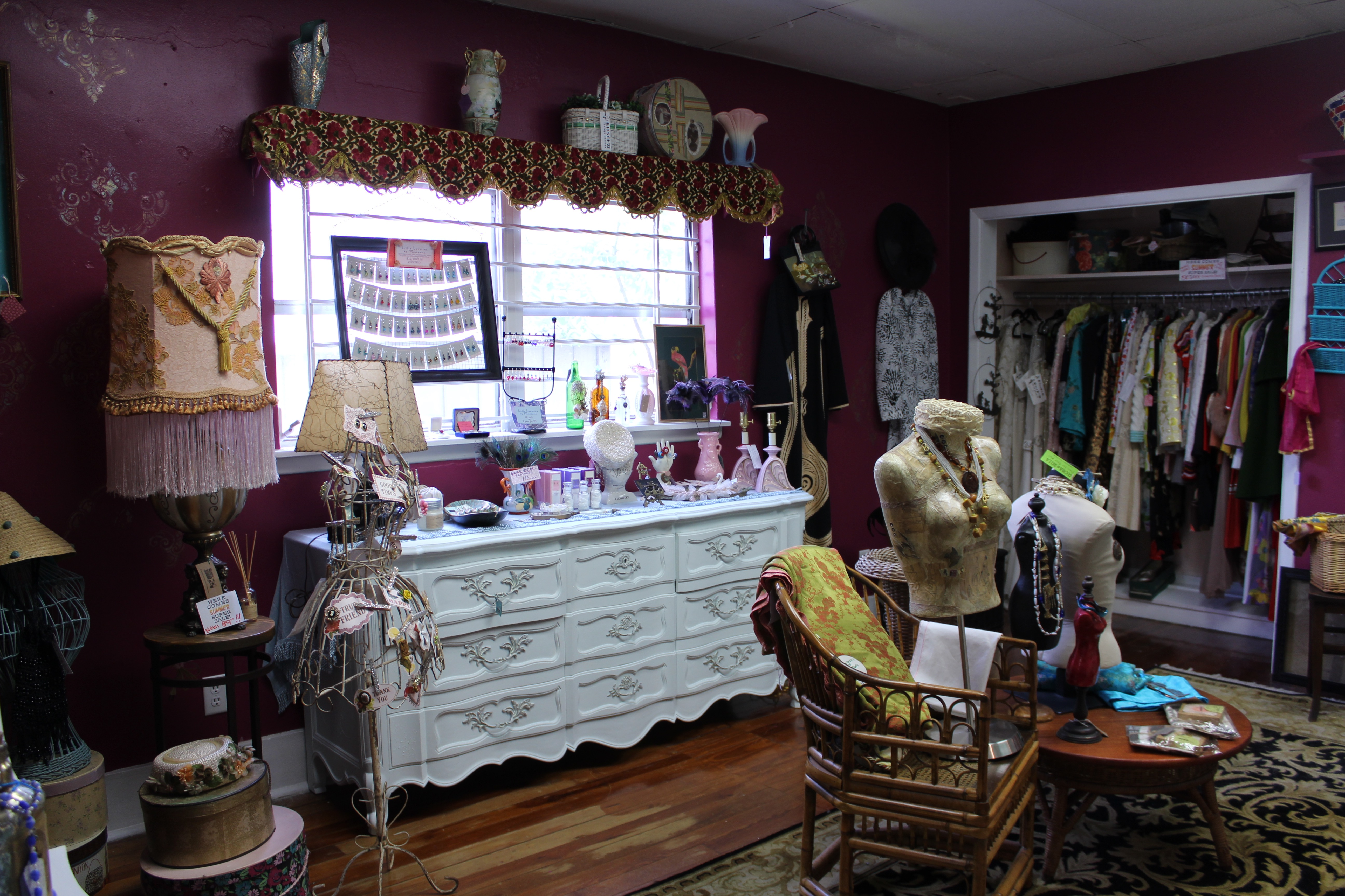 Local vintage clothing stores