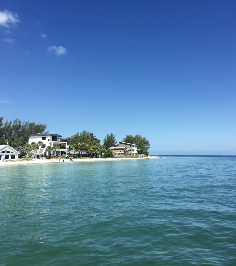 View from Rod and Reel Pier on Anna Maria Island