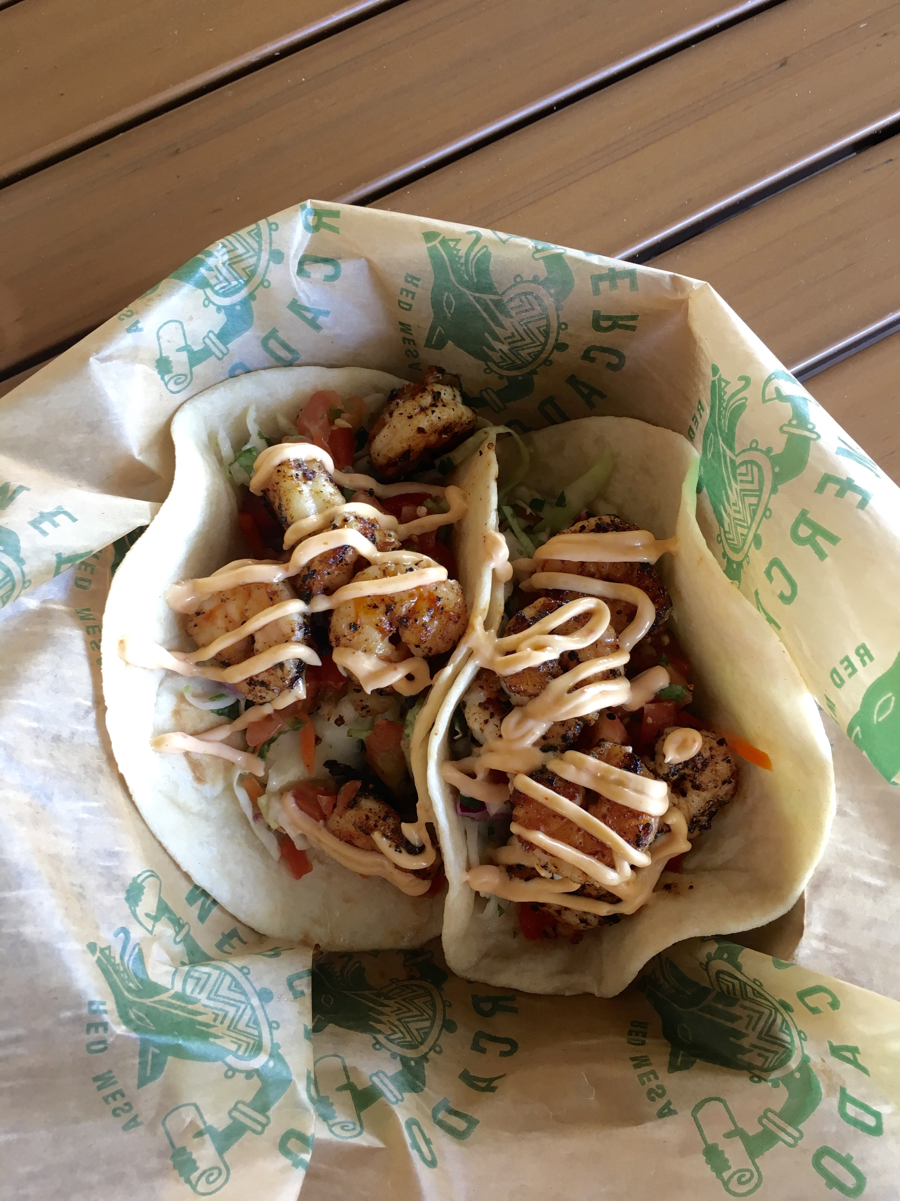 Shrimp tacos at Red Mesa Mercado - Top 10 Taco Spots in St. Pete, FL
